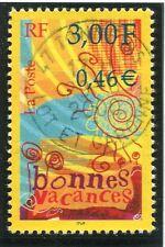 TIMBRE FRANCE OBLITERE N° 3330 BONNES VACANCES / Photo non contractuelle