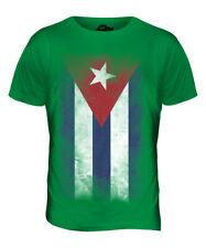 Cuba EFFETTO INVECCHIATO FLAG Donna T-shirt Top Camicia cubano FOOTBALL JERSEY Regalo
