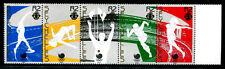 Seychelles 647a-e, MNH,Shot put, High jump, Running, Javelin, Tennis, Flag x6131