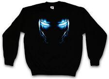 MARK III ARMOR EYES SWEATSHIRT Tony Iron Stark Arc Reactor Man Sweat Pullover