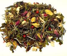 Weißer Tee Himbeere Rose - Tee mit Himbeerstücken - Tee lose in versch. Mengen