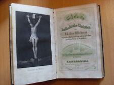 Katholisches Gebetbuch von Schwab Bamberg 1843 Leder