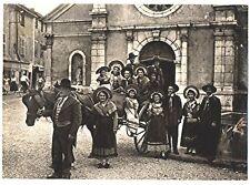 CPSM 38 Isère Pont-de-Beauvoisin costume Folklore Les Magnauds Carte-photo