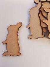 MDF Bunny Rabbit B 2cm, 3cm, 4cm, 5cm - Laser cut wooden shape