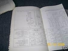 1977 FORD B-600 B-800 B600 B800 WIRING DIAGRAMS SET