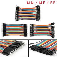 Dupont Jumper Wire Cavo a nastro 1P-1P per Arduino basetta F-F/M-M/F-M 40p