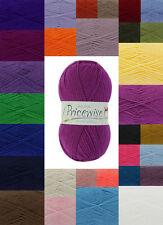 King Cole Pricewise DK Yarn Knitting Wool 100 % Acrylic 100g - FREE P&P - 100g