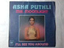 """ASHA PUTHLI Mr. moonlight 7"""" ITALY UNIQUE"""