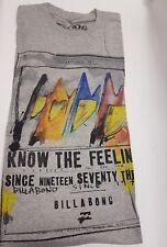 Maglione Uomo Billabong TWIN segno Grigio Heather t shirt / Top S