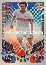 Match Attax 2011/2012 - Christian Gentner #374 - Matchwinner