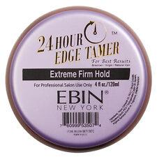Ebin New York 24 Hour Edge Tamer EXTREME FIRM HOLD Hair Control Wax 2.7 Or 4 Oz