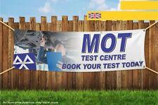 MOT Test Centre LIBRO il test oggi Heavy Duty PVC BANNER SIGN 4322