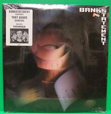 Tony Banks Bankstatement 1989 Sealed LP Genesis Sticker Progressive Rock Record