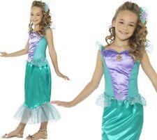 ragazze Sirena Costume bambini VESTITO BY smiffys