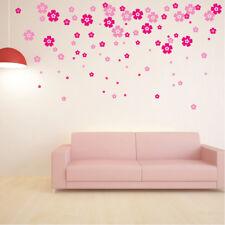 40 x Flower Wall Stickers Vinyl Art Decals