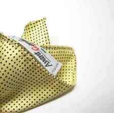 Fazzoletto da taschino bimbo seta stampata giallo moda pagetto pochette bambino