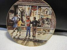 """1989 Harley Davidson """"Twenty-Nine Days """"til Christmas"""" Plate Limited Edition"""