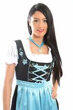 "3pcs Authentic Oktoberfest Dirndl German Bavarian Dress Female Tracht ""LIESL"""