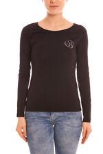 T shirt Maglietta Armani Jeans Sweatshirt Cotone Donna Nero B5H39UQ 12