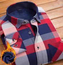Thermal winter warm shirt thick soft lining plush fabric