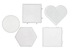 Hama Stiftplatten für Mini Bügelperlen verschiedene Motive Steckplatte Vorlage