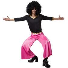 Kostüm Herren Disco Dancer 70er 80er Hemd Schlaghose Party Fasnacht Karneval