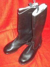 NVA Stiefel, original, genarbtes Leder, Reitstiefel, Weitschaft