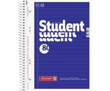 Collegeblock liniert A5 Student | Notizblock mit Spiralbindung | Schreibblock
