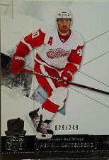 "2010-11 UPPER DECK ""THE CUP""  -  HENRIK ZETTERBERG BASE CARD     #29/249"