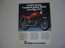 advertising Pubblicità 1979 MOTO GILERA 50 TS