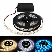 AA Battery Powered DC4.5V LED Strip Light Tape 5050 SMD Waterproof 60LED/M Tape