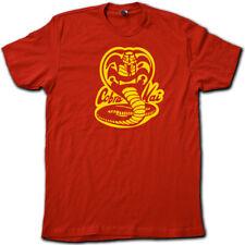 """COBRA KAI"" 80's Karate Kid RETRO T-Shirt. Super-Soft Cotton Graphic Movie Tee!"