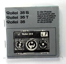 Rollei 35, 35S, 35T Original Manual in 6 languages