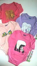 ERIC_CARLE_Bears/Butterfly/Panda_Baby_Girl_3M_BODYSUIT- Bamboo_Viscose- NWT