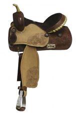 """Double T Barrel Style Saddle. 14"""", 15"""", 16"""""""