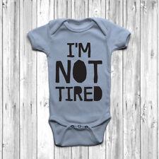 Non sono stanca BABY GROW Tuta Gilet UMORISMO Regalo Carino Assonnato