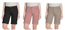 Buffalo David Bitton Women's Cuffed Bermuda Shorts
