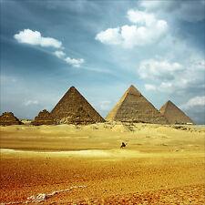 Sticker mural autocollant déco : Pyramides - réf 1278 (25 dimensions)