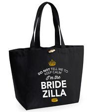 Sposa Zilla IDEA REGALO MATRIMONIO nubilato sposa Bag Borsa regalo ricordo