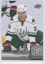 2014-15 Upper Deck AHL #40 Josh Caron Iowa Wild (AHL) Rookie Hockey Card