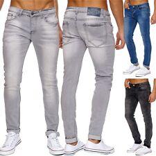 Uomo Jeans Stretch alta resistenza alla trazione Jeans da jogging elastico