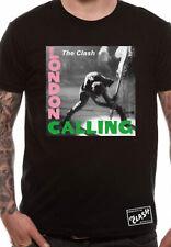 The Clash London Calling Joe Strummer Rock oficial Camiseta para hombre