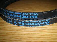 Dual Cogged Snowblower Auger Belt Set fits MTD YARDMACHINES TROYBILT CRAFTSMAN