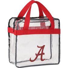 NCAA Clear Messenger Tote Bag Purse- See Through For Football Stadium
