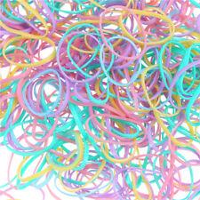 1000pcs/Bag Small Elastic Hair Bands Braids Poly Rubber Plaits Braiding Mini gj9