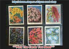 ☆ Wills - Garden Flowers New Varieties (LG) 2nd Ser. 1939 (G) *Please Select*