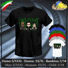 "T-shirt ""MATRIX"" Neo Morpheus Trinity Cyber Toon Reloaded Smith, Collez. 2020!"