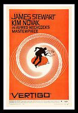 011 vintage movie art poster vertigo