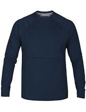 Hurley Dri-Fit Offshore Crew Sweatshirt in Blue Force