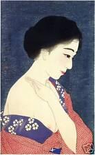 Japanese Art Print: At Make Up - Kotondo Reproduction